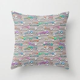 Some Bony Fish Throw Pillow