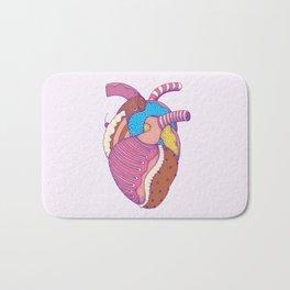 Sweet Heart Bath Mat