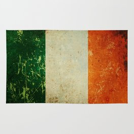 Grunge Irish Flag / Irish Tricolour Rug