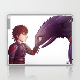 Hiccup & Toothless Laptop & iPad Skin