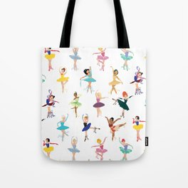 All the Ballerina Princesses Tote Bag