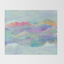Everything Beautiful- Mountain Throw Blanket