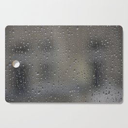 autumn window Cutting Board