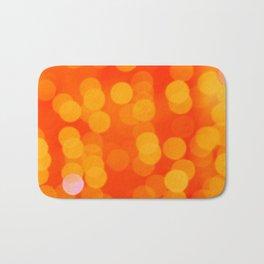 Orange Disco Fever Bath Mat