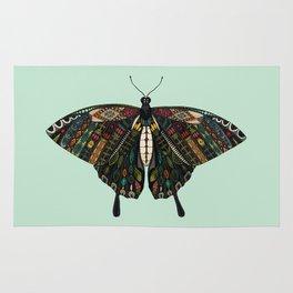 swallowtail butterfly mint Rug