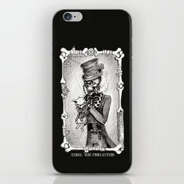 Dead Kitty in a tea cup iPhone Skin