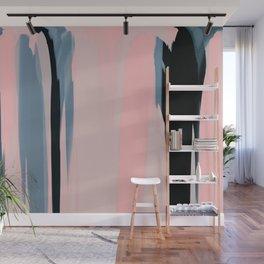 Soft Determination Peach Wall Mural