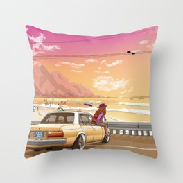 A time to reflect. Throw Pillow