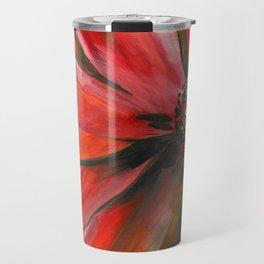 Pink Cone Flower Travel Mug