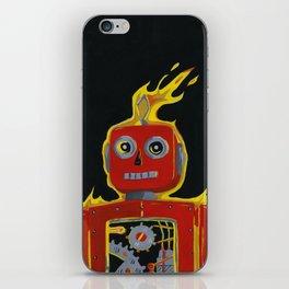 ROBOT CALLING iPhone Skin