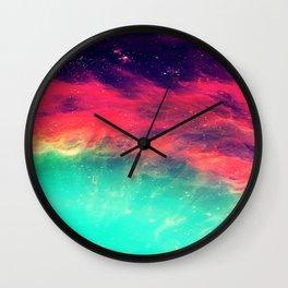 Galaxy Ocean Wall Clock