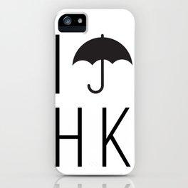 I #umbrella HK iPhone Case