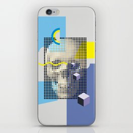 Compo with Skull iPhone Skin