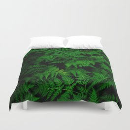 Green Nature Duvet Cover
