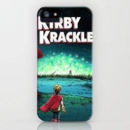 Krackle Boy iPhone Case