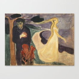 Separation by Edvard Munch Canvas Print