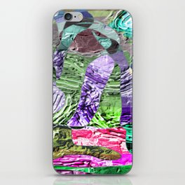 Divergent -abstract digital painting iPhone Skin