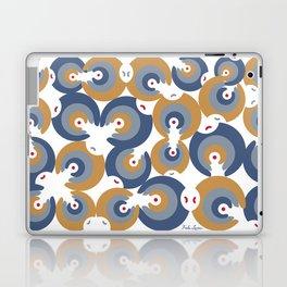 Mano Semilla/Hand Seed--Blue Laptop & iPad Skin