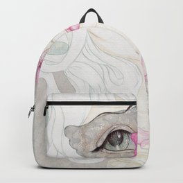 Mysterious Lady Butterfly Backpack