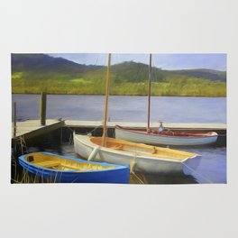 Little Boats On The Huon Rug