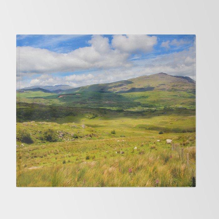 Welsh Views Throw Blanket