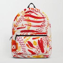 Orange joy Backpack