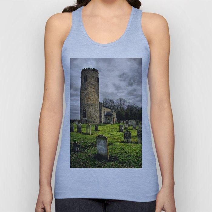 Gothic. Bulging, St John the Baptist. Unisex Tank Top
