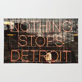 Nothing Stops Detroit Rug