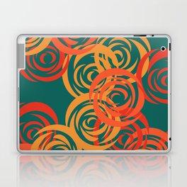 Orange on Green Laptop & iPad Skin