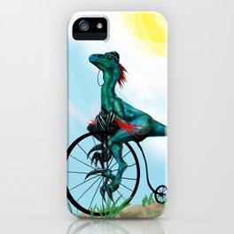 Bicycle Raptor iPhone Case