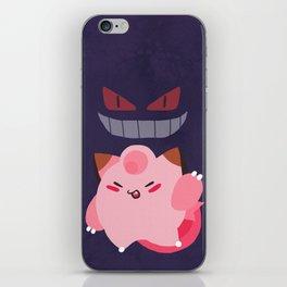 Pink Clef Purple Geng iPhone Skin