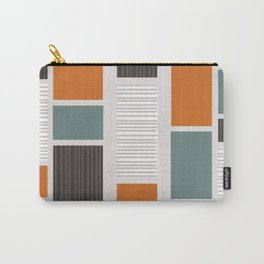 Mid Century Modern Panels Carry-All Pouch