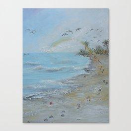 The Rainbow Bridge Canvas Print