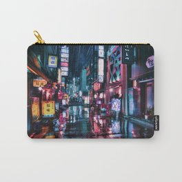 Shimbashi at Night Carry-All Pouch