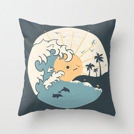 OCN LP... Throw Pillow