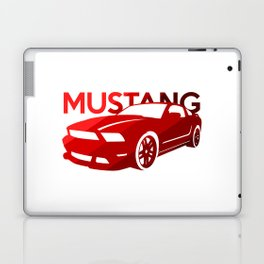 Ford Mustang Boss - classic red - Laptop & iPad Skin
