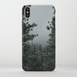 Backwoods Winter: Ponderosa Pines, Washington iPhone Case