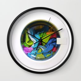 washing machine Wall Clock