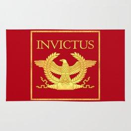 Invictus Eagle on Red Rug