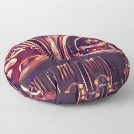 Limelight - Rush - Graphic 2 Floor Pillow