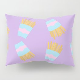 French Fry Pattern Pillow Sham
