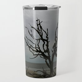 Ghost Tree Beach Travel Mug