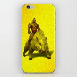 hog rider iPhone Skin