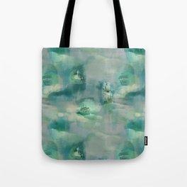 Ghostly Galleons by Katrina Ward Tote Bag