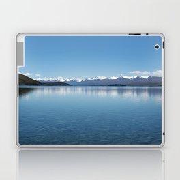 Blue line landscape Laptop & iPad Skin