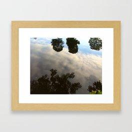 Water Reflection #2 Framed Art Print