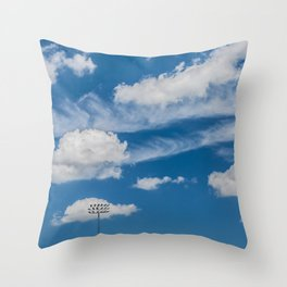 Ballpark Sky Throw Pillow