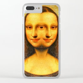 Mona Replicating Clear iPhone Case