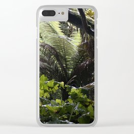 Rainforest in Cornwall Clear iPhone Case
