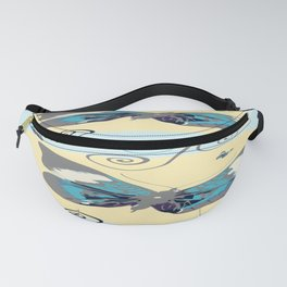 Butterflies in the day Fanny Pack